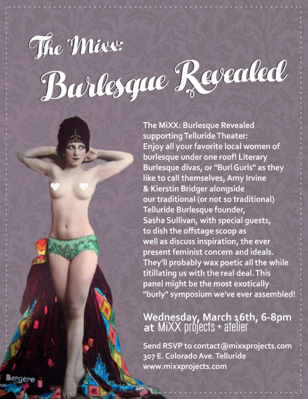 Burlesque Revealed Flyer